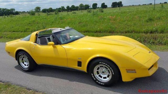 1980 chevrolet corvette l82 50 305 original miles survivor 39 s matching l 82. Black Bedroom Furniture Sets. Home Design Ideas