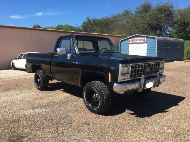 1980s Chevy 4x4 Trucks For Sale >> 1980 Chevrolet K10 4x4 NO RESERVE
