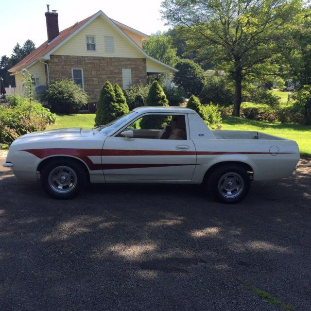 1980 Ford Pinto Ranchero Custom