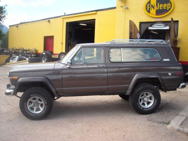 1980 Jeep Cherokee Chief Laredo 4x4 2 Door