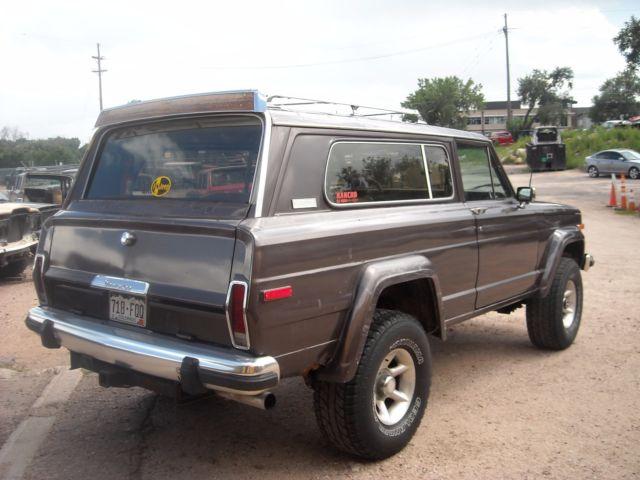 1980 jeep cherokee chief laredo 4x4 2 door. Black Bedroom Furniture Sets. Home Design Ideas