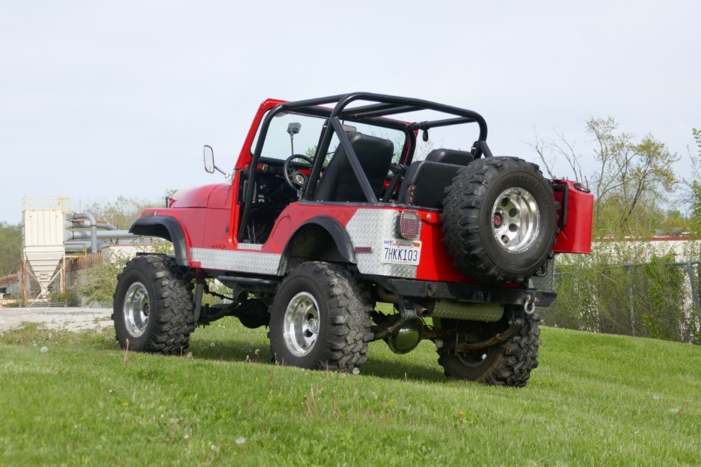 1980 jeep cj5 lifted 4wd great summer cruiser from california. Black Bedroom Furniture Sets. Home Design Ideas