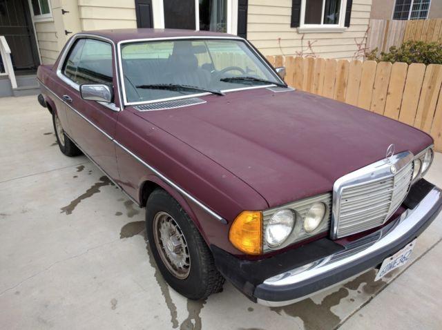 1980 mercedes benz 300d diesel 2 door mercedes coupe for Mercedes benz diesel models
