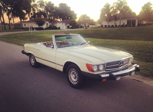 1980 mercedes benz 450sl base convertible 2 door 4 5l for Used 450sl mercedes benz sale