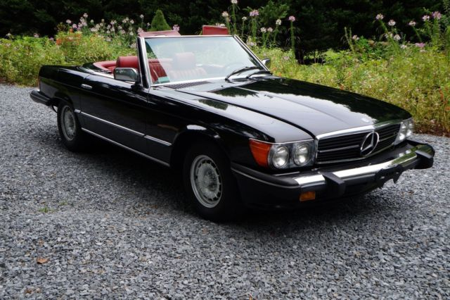 1980 mercedes benz 450sl convertible sl maintained no rust mint no reserve. Black Bedroom Furniture Sets. Home Design Ideas