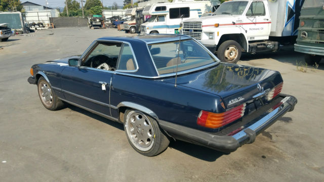 1980 Mercedes Benz 450sl Hardtop Convertible California Theft Recovery See Vid