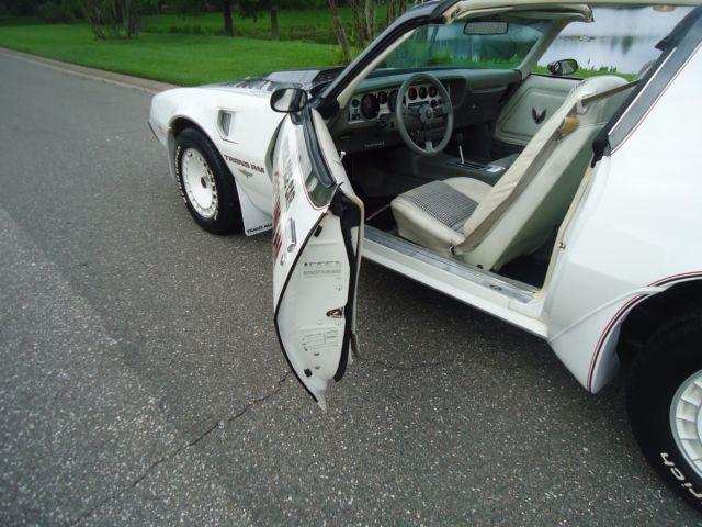 1980 Turbo Trans Am Pace Car Full Documentation Car