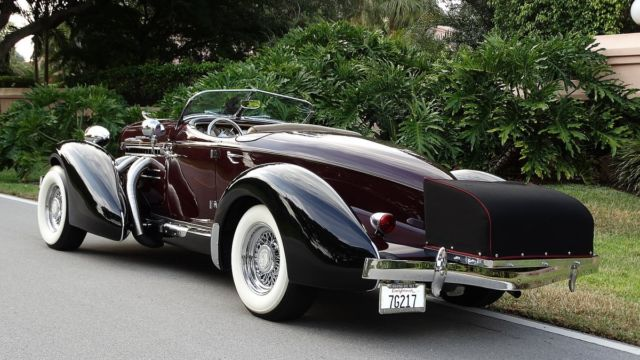 1981 auburn speedster replica of a 1936 auburn boat tail gorgeous in every way. Black Bedroom Furniture Sets. Home Design Ideas