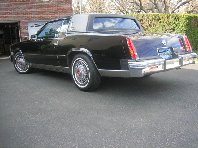 1981 cadillac eldorado base coupe 2 door 5 7l
