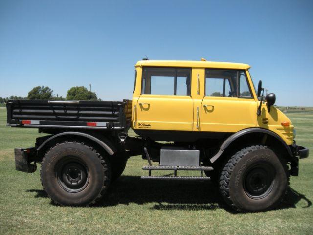 Unimog For Sale >> 1981 Mercedes Benz Unimog Doka 416 Double Cab 4X4 Monster truck Low reserve