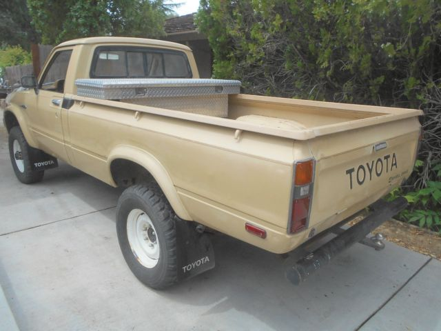 Bakersfield Used Cars >> 1981 Toyota 4X4 Long Bed Pickup