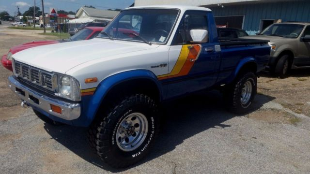1981 toyota SR5 4x4 Pickup
