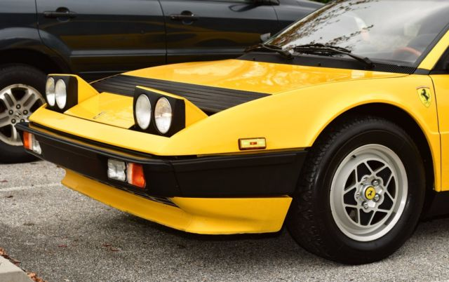 1982 ferrari mondial 8 coupe in giallo yellow excellent restored condition tubi. Black Bedroom Furniture Sets. Home Design Ideas