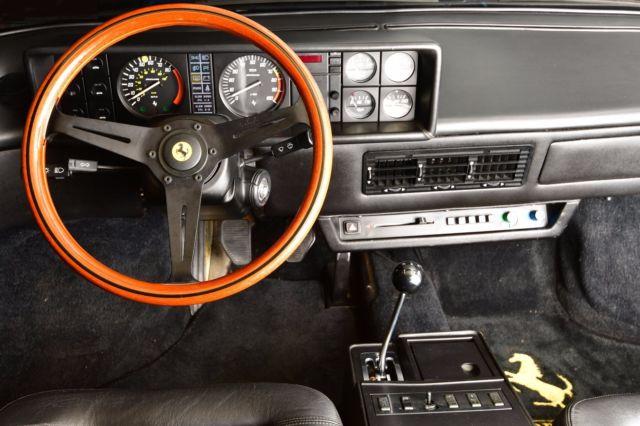 1982 ferrari mondial 8 coupe in giallo yellow excellent restored condition tubi. Black Bedroom Furniture Sets. Home Design Ideas