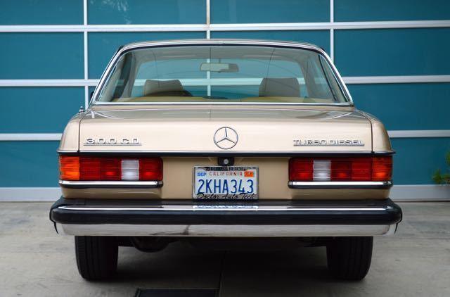 1982 Mercedes 300CD orig owner only 162k miles w  records
