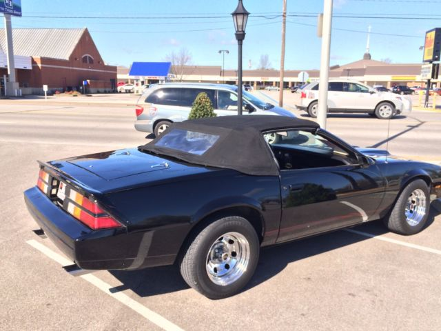 Used Cars Evansville In >> 1983 Camaro Berlinetta Convertible
