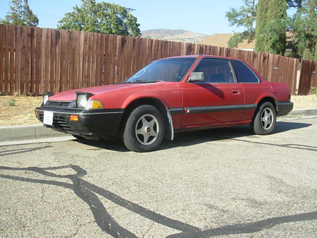 1983 honda prelude 5 speed solid body rare early 2nd. Black Bedroom Furniture Sets. Home Design Ideas