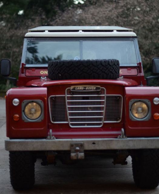 1983 Land Rover Series 3 109 County Station Wagon (200TDI