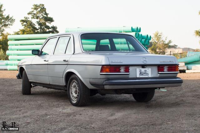 1983 mercedes benz 300d turbo diesel no reserve for Mercedes benz turbo diesel