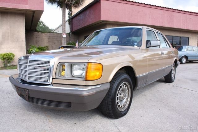 1983 Mercedes Benz 300sd Turbo Diesel W126 Immaculate