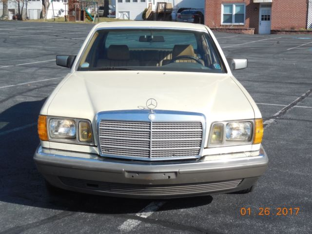 1983 mercedes benz 300sd turbo diesel w126 for Mercedes benz om617