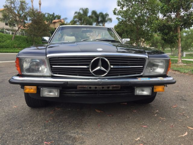 1983 mercedes benz 500sl european model