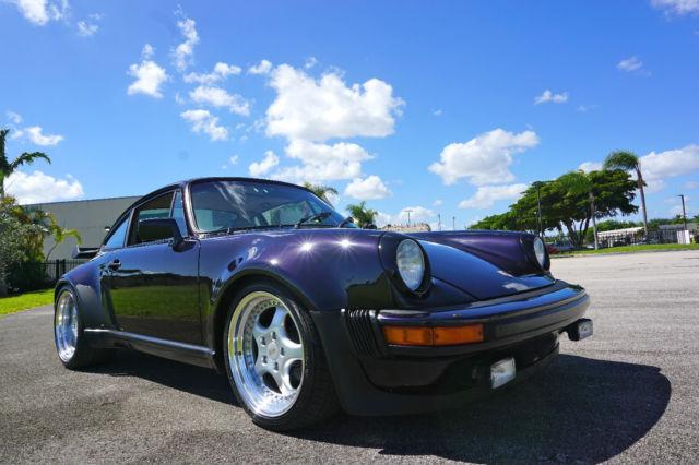 1983 porsche 911sc coupe widebody turbo look 911 sc