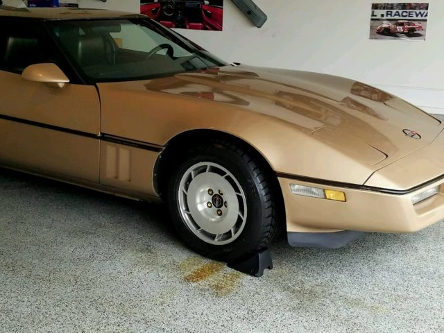 1984 Chevrolet Corvette With 3000 Of Brand New Parts In Box
