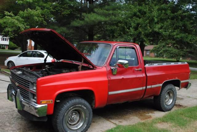 1984 chevrolet k10 silverado standard cab pickup 2 door 5 0l for 10 door truck
