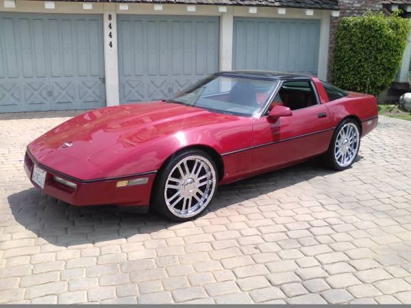 1984 chevy corvette no reserve. Black Bedroom Furniture Sets. Home Design Ideas