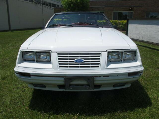 1984 ford mustang gt350 convt  u00e2 u20ac u00a2 20th anniversary