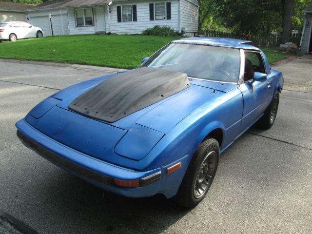 1984 mazda rx7 gs rx 7 sbc v8 conversion turbo 400 street able race car look. Black Bedroom Furniture Sets. Home Design Ideas