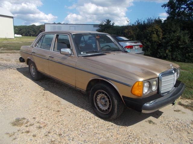 1984 mercedes benz 300 series turbo diesel
