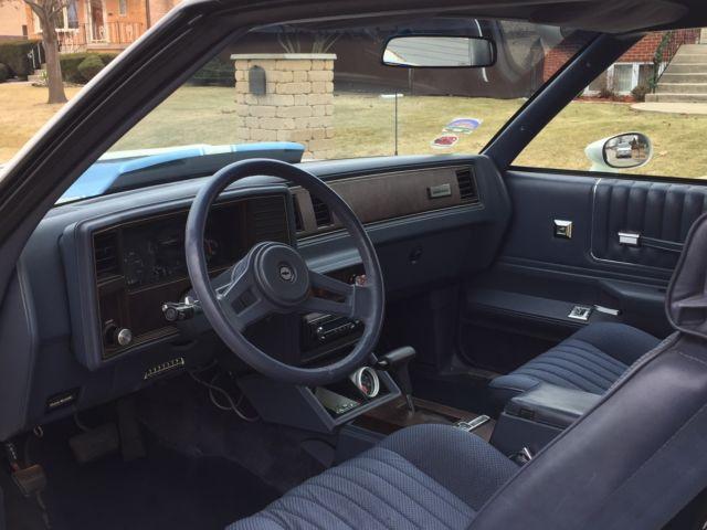 1984 Ss Monte Carlo 396 Bb Turbo 400