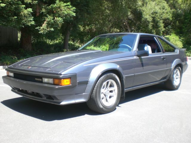 1984 toyota celica supra mkii very well cared for. Black Bedroom Furniture Sets. Home Design Ideas
