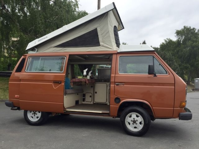 1984 volkswagen bus vanagon westfalia camper bus w rebuilt engine Vw crate motor