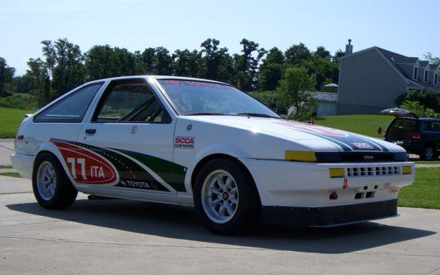 1985 Ae86 Toyota Corolla Trueno Race Car Scca It B
