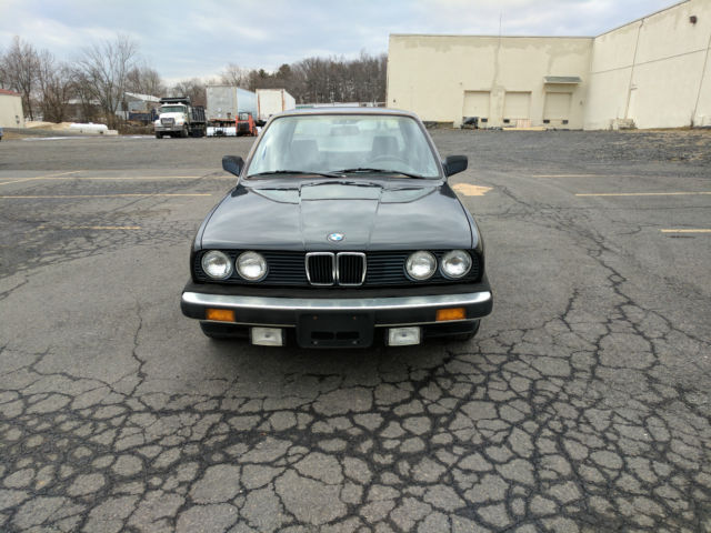 1985 Bmw 318i 4 Door Manual Transmission 1 Owner Black On