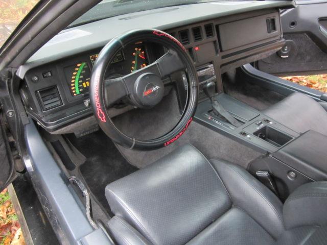 1985 chevrolet corvette hatchback new interior