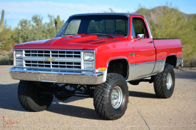1987 Chevrolet Shortbed 4x4 For Sale Autos Post