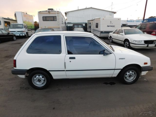 1985 Chevrolet Sprint Used 1l I3 6v Manual No Reserve