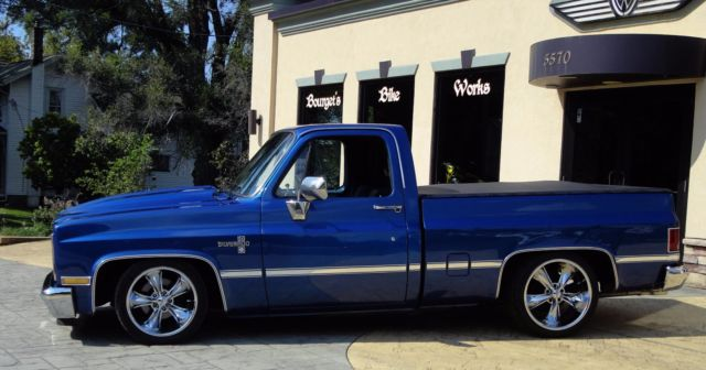 1985 Chevy C10 Prostreet Restomod Low Rider Square Body