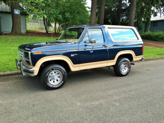 1985 ford bronco eddie bauer 4x4 1977 Ford Bronco 1985 Ford Bronco