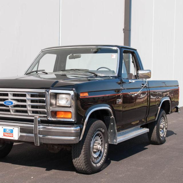 1985 Ford F150 XL 4X4 Pickup, Actual Mileage Pickup Truck