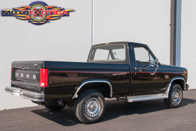 1985 Ford F150 Xl 4x4 Pickup  Actual Mileage Pickup Truck 12 449