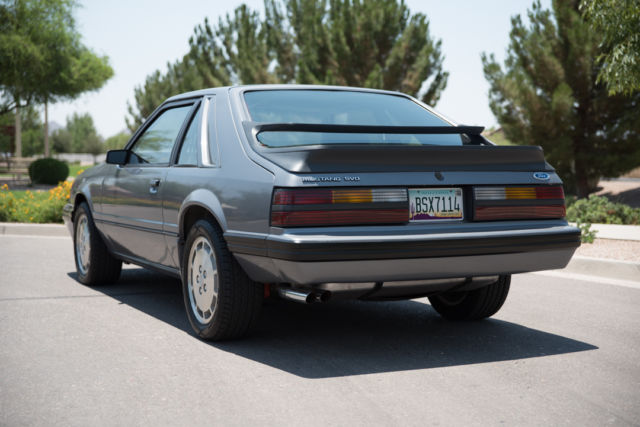 1985 ford mustang svo hatchback 2 door 2 3l 17 500. Black Bedroom Furniture Sets. Home Design Ideas
