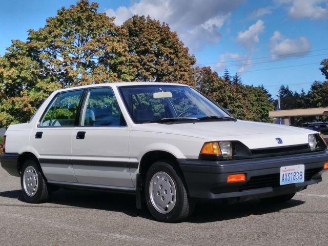1985 honda civic 1500 sedan automatic with 38k miles 100 for Honda civic 1985