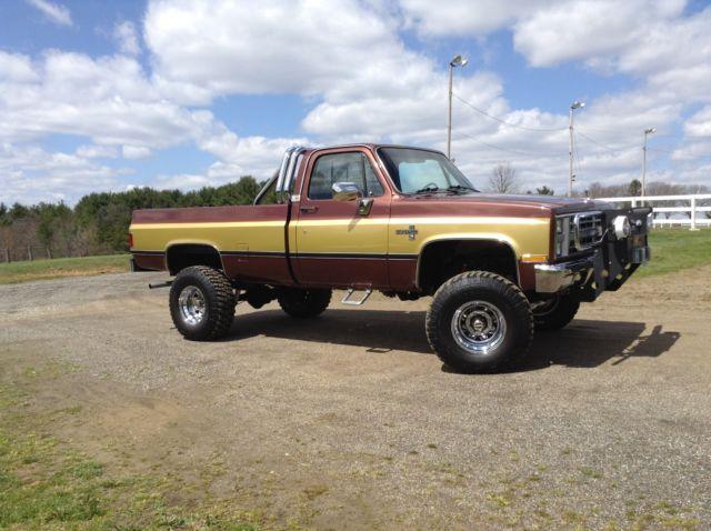 1985 K20 Chevy Silverado Truck 4x4 Pickup