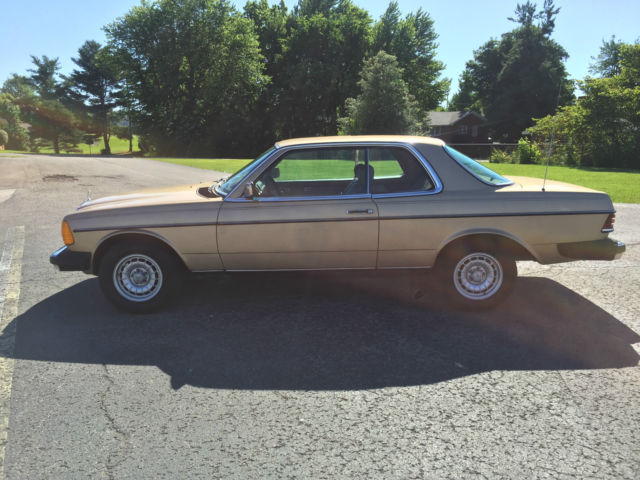1985 mercedes benz 300cd 300 cd coupe turbo diesel for Mercedes benz 300cd for sale