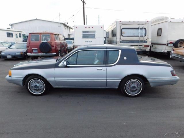 1985 mercury cougar used 5l v8 16v automatic no reserve
